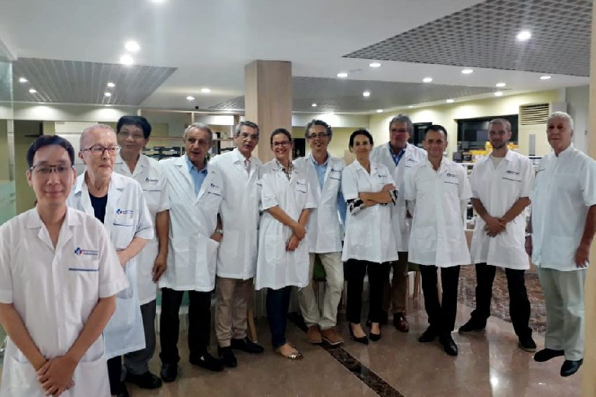 Doctors team in Advance European Medicare Center