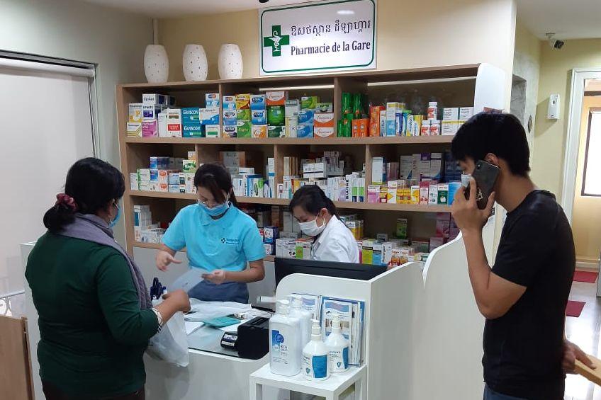 Pharmacie de la gare Phnom Penh